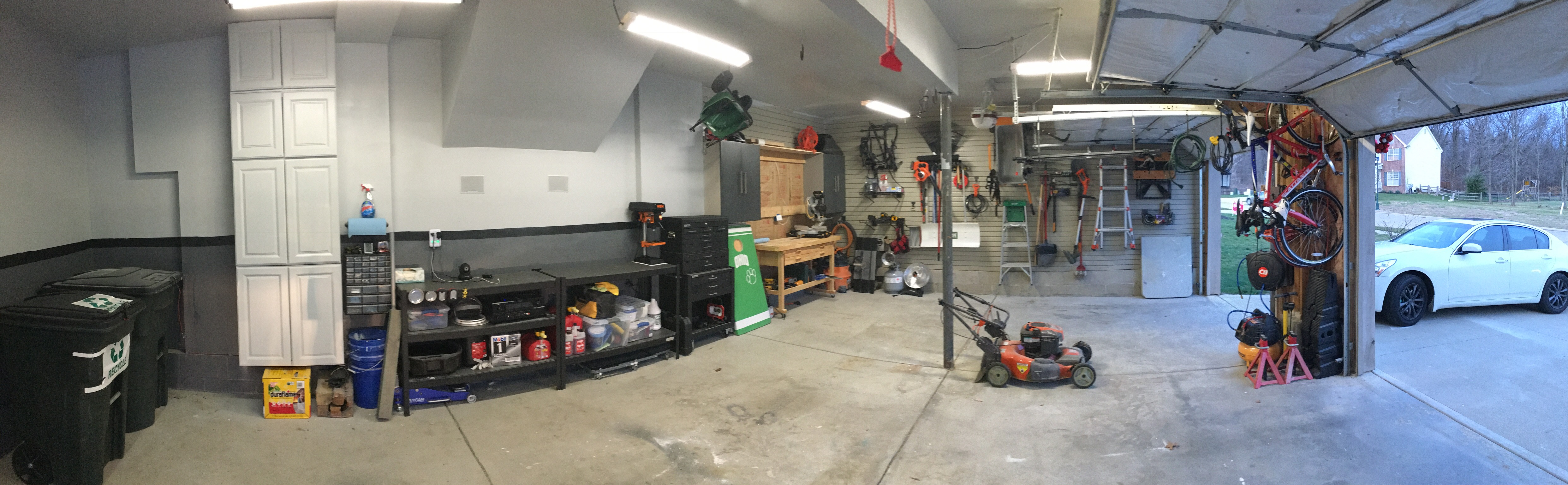 Attractive The Picture Above Is From One Iteration Of My Ever Changing Garage Layout,  And Organization. As I Continue To Add To My Collection Of Tools I Now  Leverage A ...
