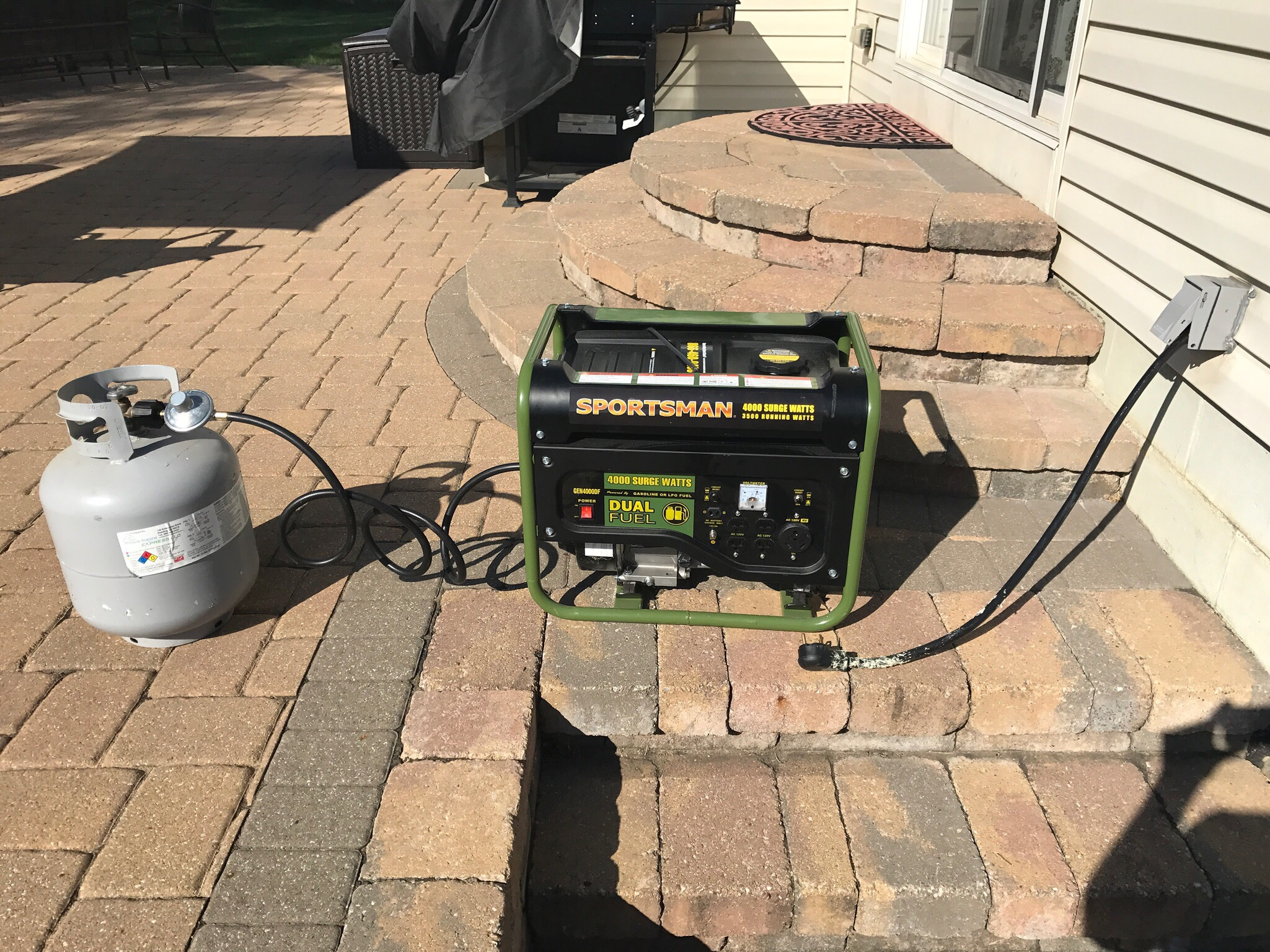 I Have The Powerrrr Strategies For Protecting Your Home And Family Wiring Generator Power Inlet Box This Picture Is Essentially My Outside Finished Product Picked A Dual Fuel System Specifically Because Want To Drive From Propane Tank